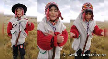 Camilo Zuñiga, el niño declamador de Cerro de Pasco que se volvió viral en redes sociales (VIDEO) - Aweita.pe
