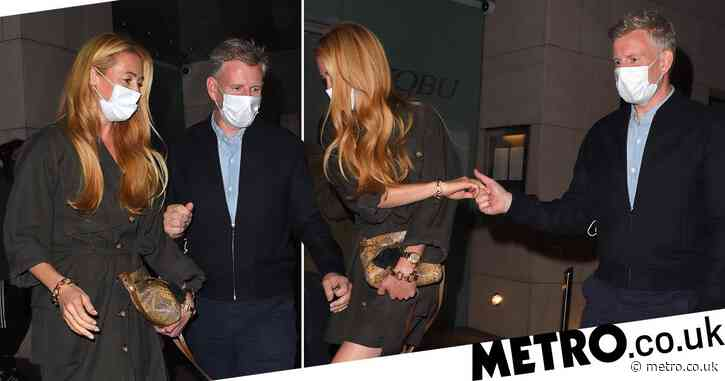 Cat Deeley and Patrick Kielty are couple goals as they celebrate eighth wedding anniversary at Nobu
