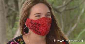 Teacher 'sacked' for refusing to remove her Black Lives Matter face covering