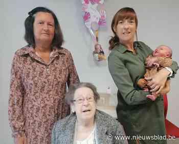 Amelie zorgt voor vrouwelijk viergeslacht in gezin Deronne-De Brabandere
