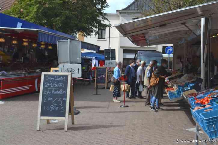 Markt Sleidinge verhuist voor één dag, lotenactie verlengd