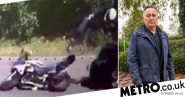 Bar manager miraculously survives being knocked off motorbike