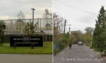 US Embassy employee in Kiev dies after she was found beaten up with head injuries near railway line
