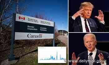 Google searches for 'how to move to Canada' spike during presidential debate