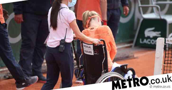 Sara Errani convinced Kiki Bertens exaggerated injury despite leaving court in a wheelchair