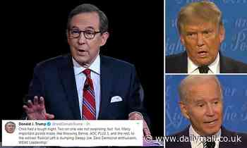 Chris Wallace berated for failing to control debate - as Trump says: 'two against one... fun!'