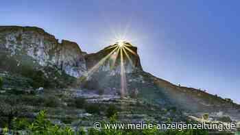 Bei Alicante sorgt Sonne für Naturwunder im Oktober und März