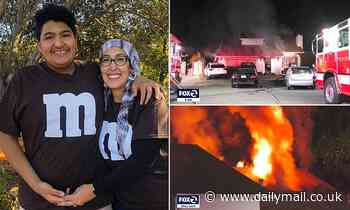 California mom , 43,dies after rushing back into her burning home to save autistic son, 15