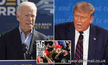 Joe Biden tells Proud Boys 'cease and desist'