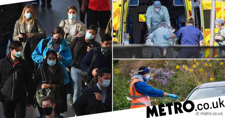 UK was hit with '100,000 cases a day' at height of pandemic