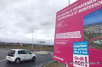 Yvelines : la route dans la plaine de Montesson définitivement connectée - Le Parisien