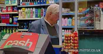 Boris Johnson's dad shops without face mask despite PM's vow to fine flouters