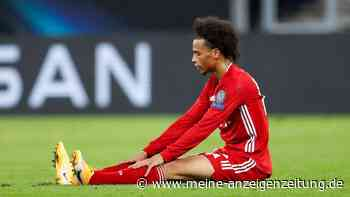 FC Bayern: Neues Verletzungs-Drama bei Leroy Sané? Jetzt packt sein Knie-Arzt aus