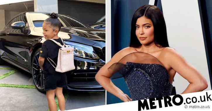 Kylie Jenner shares sweet photo of daughter Stormi on her first day of home school and it's too cute