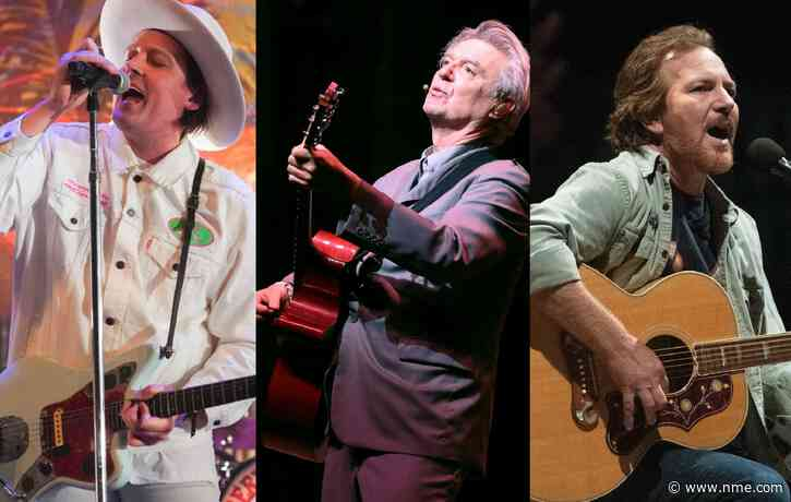 Arcade Fire, David Byrne and Pearl Jam announced for new US voting rights compilation