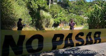 Asesinan a dos hombres en Suchitoto, Cuscatlán - Solo Noticias