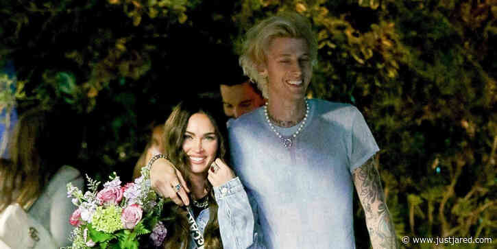Machine Gun Kelly & Megan Fox Enjoy a Romantic Dinner Date
