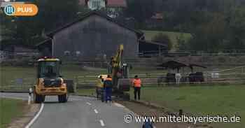 In Walting wird das Wassernetz saniert - Region Cham - Nachrichten - Mittelbayerische