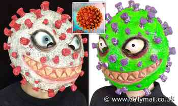 'Distasteful' coronavirus Halloween masks from China sold on Amazon