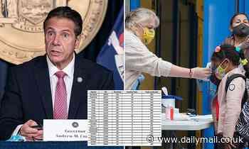Coronavirus New York: Nearly a quarter of cases in 20 hotspots