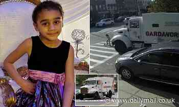 Girl, 7, run over and killed by armored truck in Brooklyn