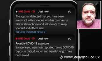 Coronavirus UK: NHS app 'test' message tells people to self-isolate