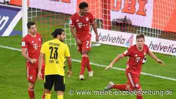 Bayern gewinnt Supercup gegen Dortmund - Kimmich mit Zauber-Tor
