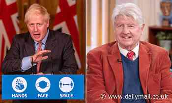 Boris Johnson's father Stanley seen shopping WITHOUT facemask