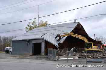 Another building demolished in South Porcupine - TimminsToday