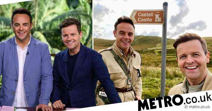 Ant and Dec hit the road to visit I'm a Celebrity castle in Wales amid fears of lockdown disruption