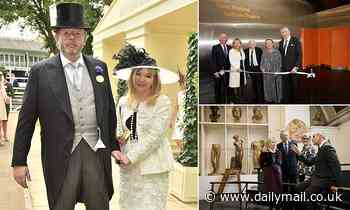 Hans and Julia Rausing add another £18m to the pot
