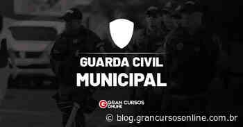 Concurso GCM de Elias Fausto SP: data da prova definida. VEJA! - Gran Cursos Online