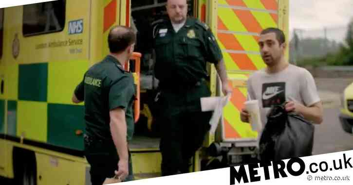 Ambulance 'restores faith in humanity' after heartwarming act of kindness by paramedics