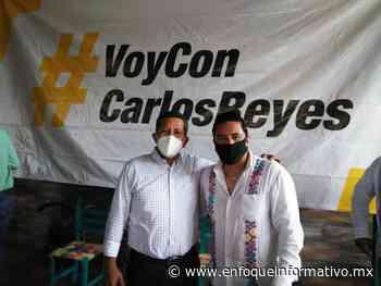 Sostuvo encuentro Carlos Reyes con militantes y base del PRD en Ometepec - Enfoque Informativo