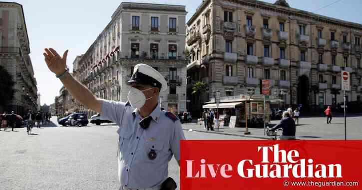 Coronavirus live news: Italian senate suspended as lawmakers test positive; Covid travel slump could cost 46m jobs