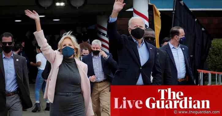 Biden tells white supremacist groups to 'cease and desist' after Trump's debate 'embarrassment' – live