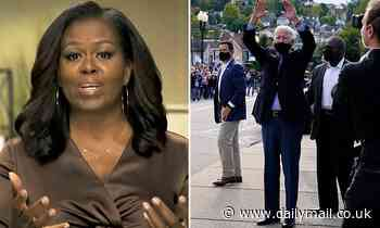 Michelle Obama urges people to vote for Joe Biden in 'numbers that cannot be denied'