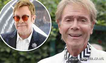 Cliff Richard explains Elton John's nickname for him sparked by weekly calls to his office - Express