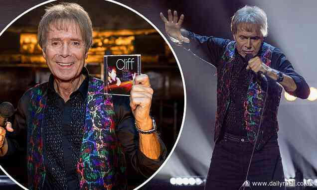 Sir Cliff Richard announces new album as he marks his 80th birthday - Daily Mail