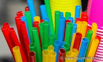 Ban on plastic straws begins TODAY: Stirrers and cotton buds also outlawed