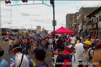 Reportan protestas y saqueos en Punta de Mata, estado Monagas (video) - Noticiero Digital