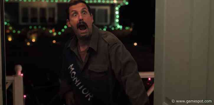 New Trailer For Adam Sandler's Halloween Netflix Movie Hubie Halloween Is Totally Absurd