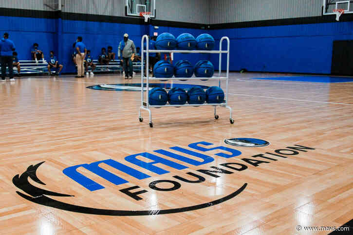 Mavs Foundation unveils new basketball court at Dallas County Juvenile Department