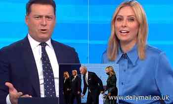 Allison Langdon slams BOTH presidential candidates after chaotic debate in row with Karl Stefanovic