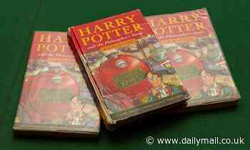 Father's decades old Harry Potter first edition found to be worth a fortune
