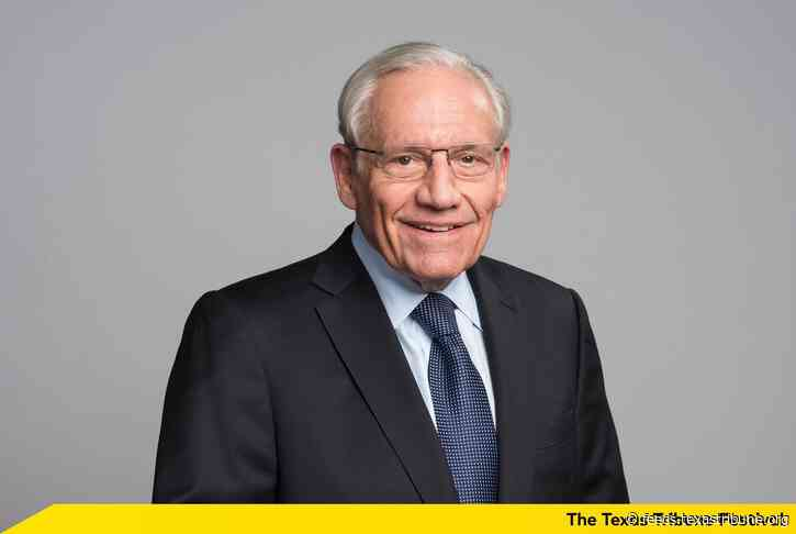 Journalist Bob Woodward says pandemic, economy will decide 2020 election