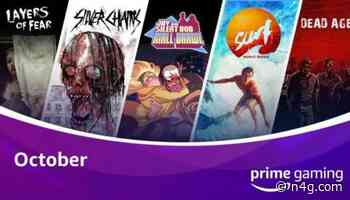 October Prime Gaming Lineup Features Spooky Silver Surfing
