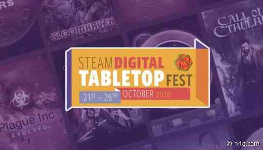 Steam Digital Tabletop Fest Celebrates Board Games This October