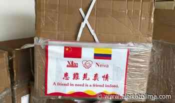 Neiva recibe elementos de bioseguridad donados por la República de China - Alerta Tolima