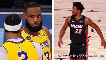 LeBron, AD and red-hot Lakers flip script in Miami massacre as hurt Heat crash back to reality